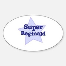 Super Reginald Oval Decal