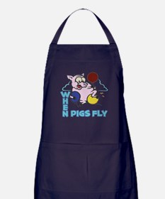 Pigs Fly Apron (dark)