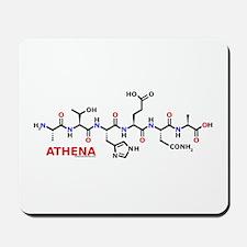 Athena name molecule Mousepad