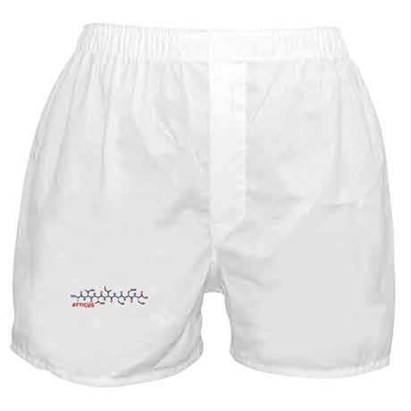 Atticus name molecule Boxer Shorts