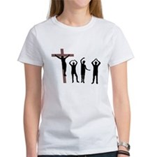 Jesus dancing YMCA Tee