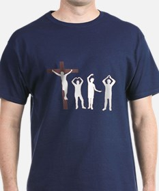 Jesus dancing YMCA T-Shirt