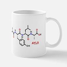Ayla name molecule Mug