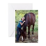 GIRL & HORSE Greeting Cards (Pk of 10)
