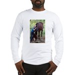 GIRL & HORSE Long Sleeve T-Shirt