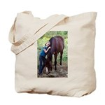 GIRL & HORSE Tote Bag