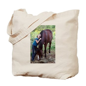 GIRL & HORSE Tote Bag