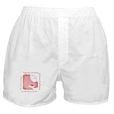 Women's Heart Disease Boxer Shorts
