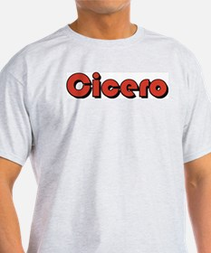Cicero, Illinois Ash Grey T-Shirt