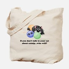 CatNip Kitty Tote Bag