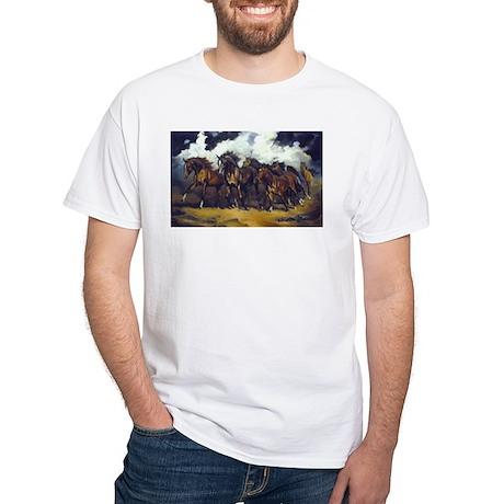 THREAT OF REIN White T-Shirt