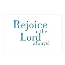 Rejoice in the Lord Postcards (Package of 8)
