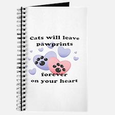 Kitty Paw-Prints Journal