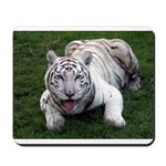 Tiger In The Water Mousepad