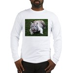 Tiger In The Water Long Sleeve T-Shirt