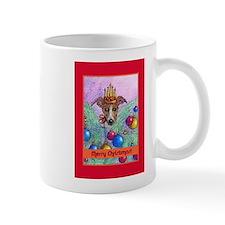 Whippet Christmas tree fairy Mug