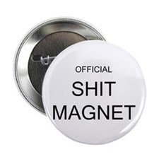 Official Shit Magnet Button