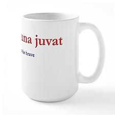 Fortes Fortuna Juvat Mug