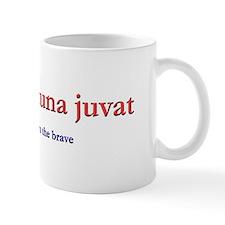 fortes fortuna juvat Small Mug