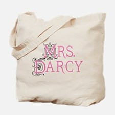 Jane Austen Mrs. Darcy Tote Bag