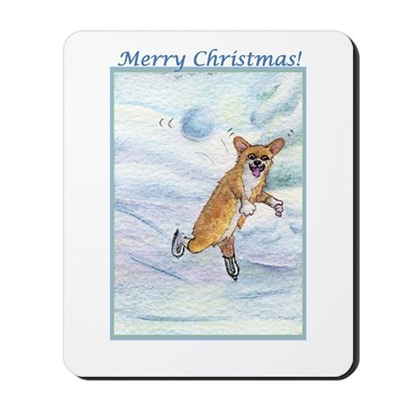Eek! Incoming snowball! Mousepad