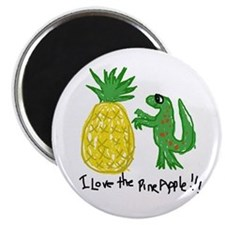 Crazy Pineapple Magnet