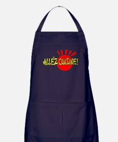 Funny Entertainment pop culture Apron (dark)
