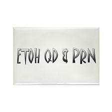 ETOH QD & PRN Rectangle Magnet