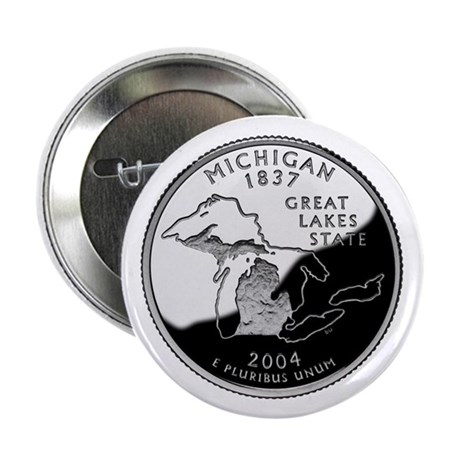 "Michigan Quarter 2.25"" Button (10 pack)"