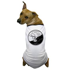 Michigan Quarter Dog T-Shirt