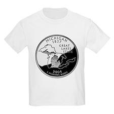 Michigan Quarter T-Shirt