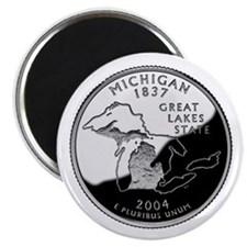 Michigan Quarter Magnet