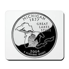 Michigan Quarter Mousepad