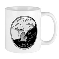 Michigan Quarter Mug