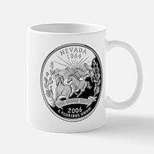 Nevada Quarter Mug