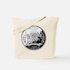 Nevada Quarter Tote Bag