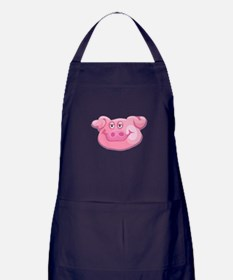 Cute Pig Face Apron (dark)