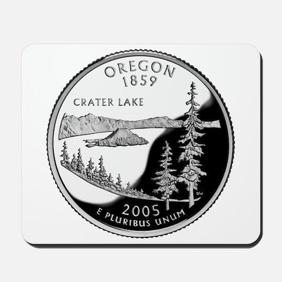 Oregon Quarter Mousepad