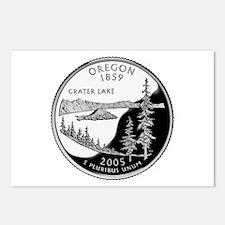 Oregon Quarter Postcards (Package of 8)