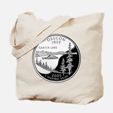 Oregon Quarter Tote Bag