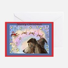 Sleigh flight Greeting Cards (Pk of 10)