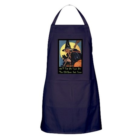 WITCH - WE'LL EAT Apron (dark)