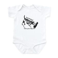 Cute Border terrier Infant Bodysuit