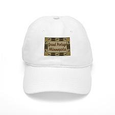 Grand Portage Minnesota Loon Baseball Cap