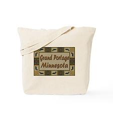 Grand Portage Minnesota Loon Tote Bag