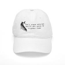 Don't argue with god Baseball Cap