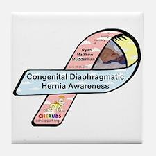 Ryan Matthew Mudderman CDH Awareness Ribbon Tile C