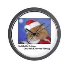 Santa Squishy Wall Clock