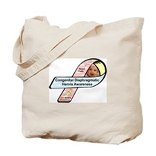 Nayeli Faith CDH Awareness Ribbon Tote Bag
