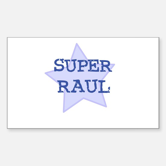 Super Raul Rectangle Decal